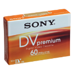 Sony MiniDV 10KB Premium Tape 60-Minute - Blue(DVM60PR)