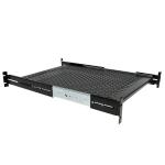 StarTech.com 2U geventileerd, in rack te monteren lade met instelbare diepte 22.7 kg