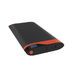 Cygnett ChargeUp Digital 10000 Lithium Polymer (LiPo) 10000mAh Grey,Red power bank