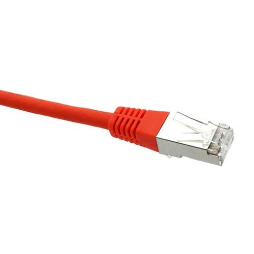 Patch Cable CAT6 S/FTP LSZH - Orange 0.5m
