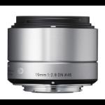 Sigma 19mm F2.8 DN MILC Wide lens Silver