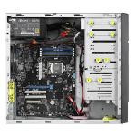 ASUS TS100-E10-PI4 Full-Tower Black, Metallic Intel C242 LGA 1151 (Socket H4)