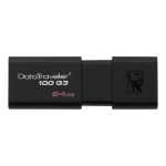 Kingston Technology DataTraveler 100 G3 USB flash drive 64 GB USB Type-A 3.2 Gen 1 (3.1 Gen 1) Black