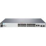 Hewlett Packard Enterprise Aruba 2530 24 PoE+ Managed L2 Fast Ethernet (10/100) Grey 1U Power over Ethernet (PoE)