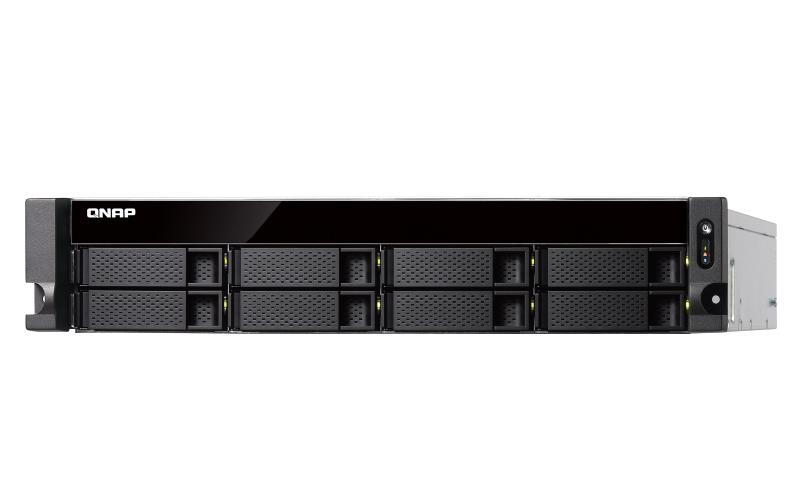 QNAP TVS-872XU Rack (2U) Black NAS