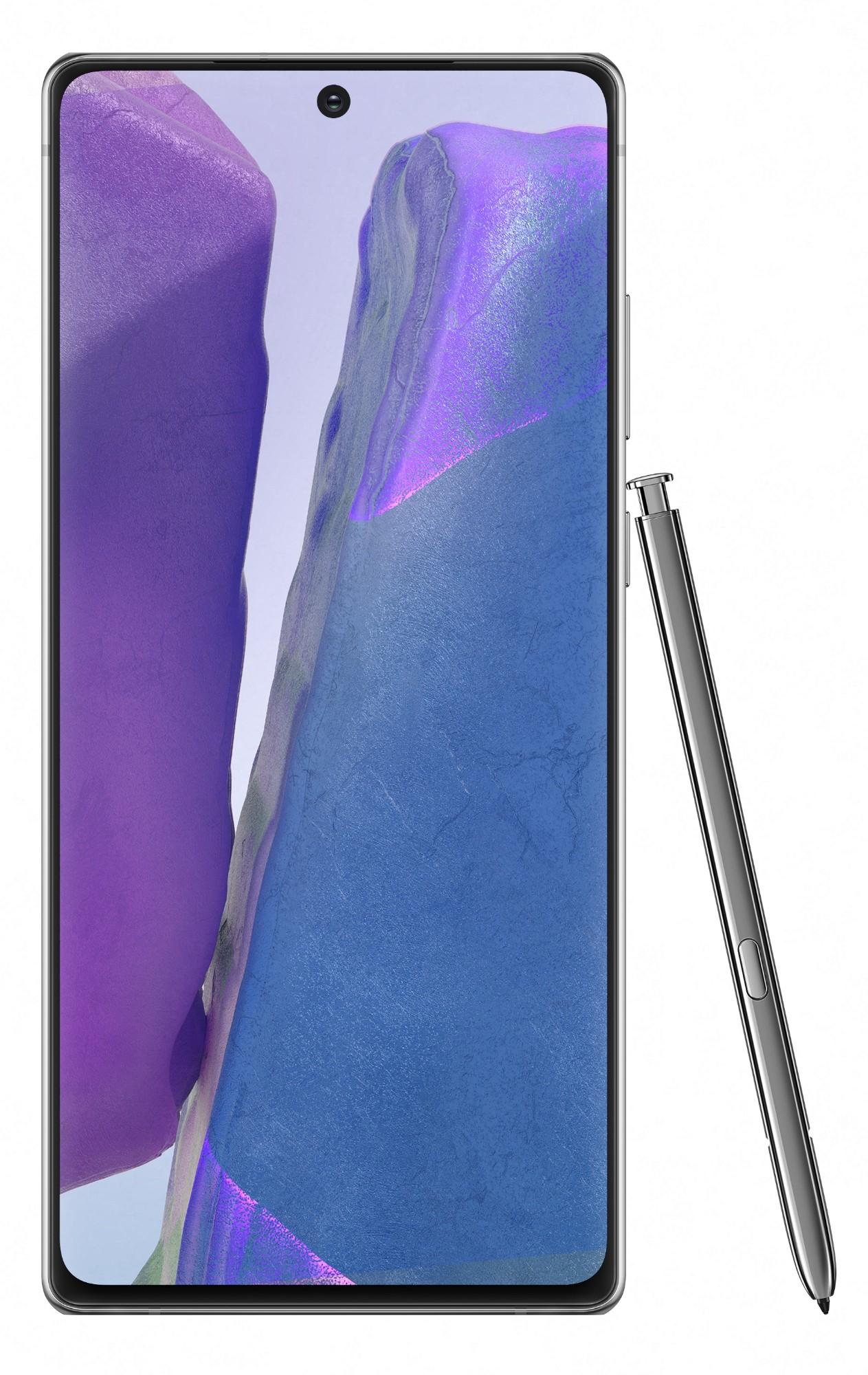 "Samsung Galaxy SM-N980F 17 cm (6.7"") 8 GB 256 GB 4G USB Tipo C Gris Android 10.0 4300 mAh"