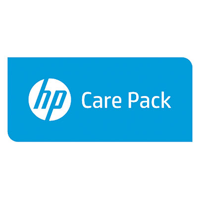 Hewlett Packard Enterprise 1y 4hr Exch 5820 FCoE module FC SVC