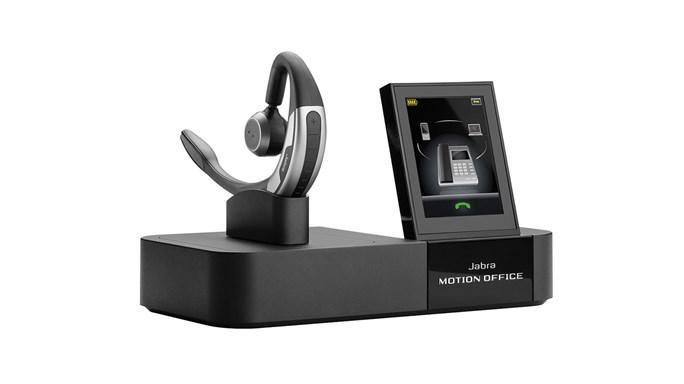 Jabra Motion Office MS Monaural Ear-hook Black headset