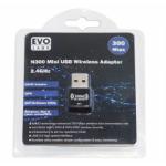 Evo Labs NPEVO-N300USBAD network card WLAN 300 Mbit/s