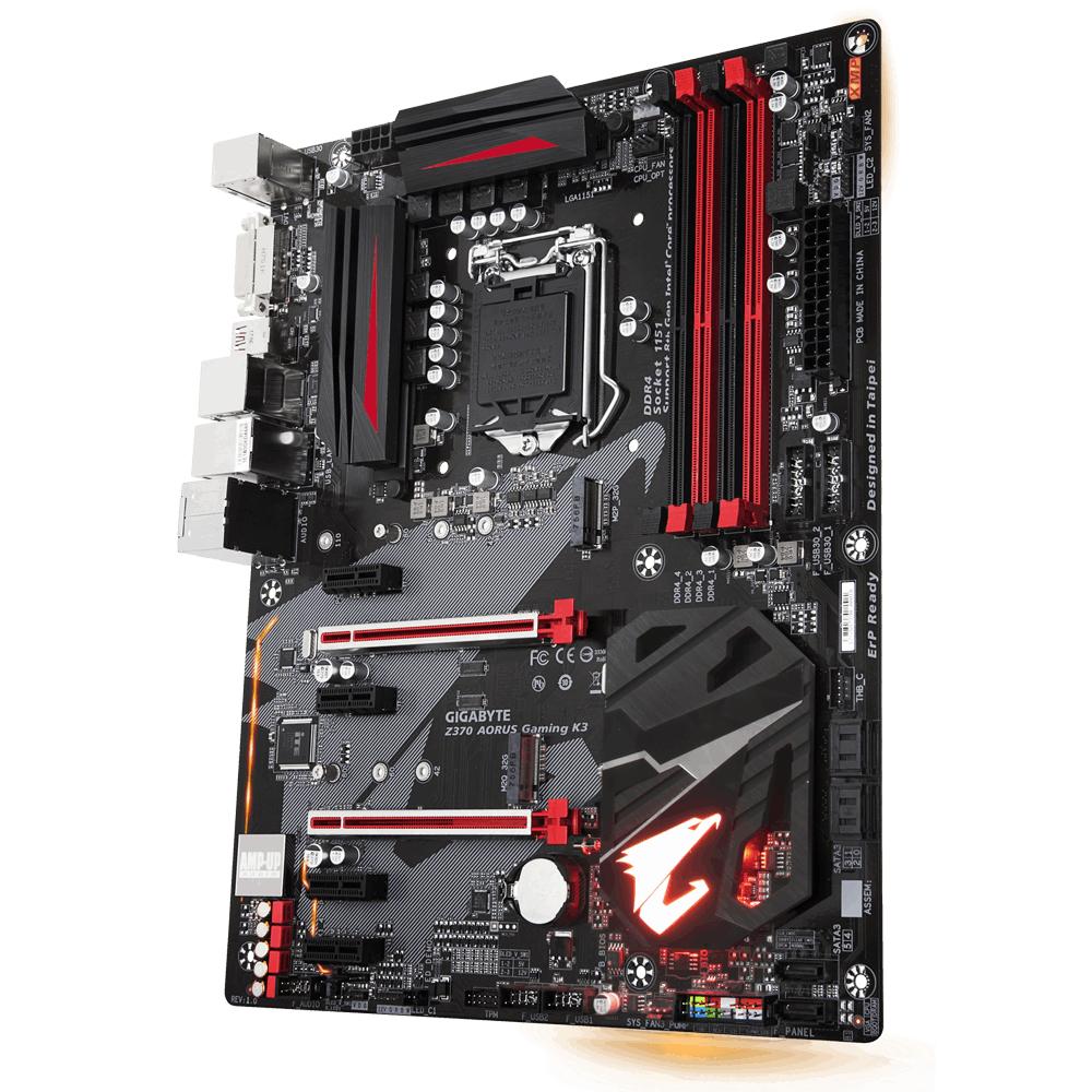Gigabyte Z370 AORUS Gaming K3 Intel® Z370 LGA 1151 (Socket H4) ATX