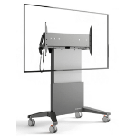 "Salamander FPS1XL/EL/GG/EX 90"" Portable flat panel floor stand Graphite, Grey flat panel floorstand"