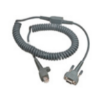 Intermec 6.5ft RS232 9-Pin seriële kabel Grijs 2 m D-sub 9-pin