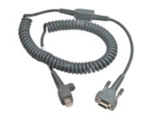 Intermec 6.5ft RS232 9-Pin cable de serie Gris 2 m D-sub 9-pin