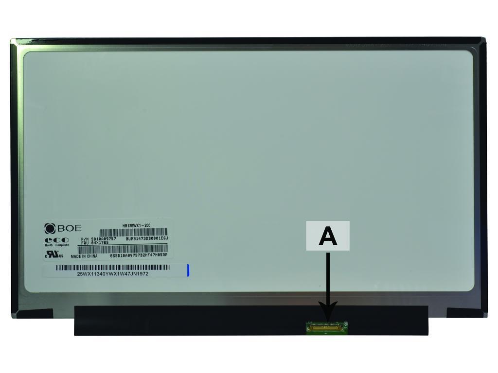 2-Power 12.5 1366x768 WXGA HD LED Matte Screen - replaces 04X0437