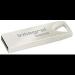 Integral Arc 32GB 32GB USB 2.0 USB Type-A connector Metallic USB flash drive