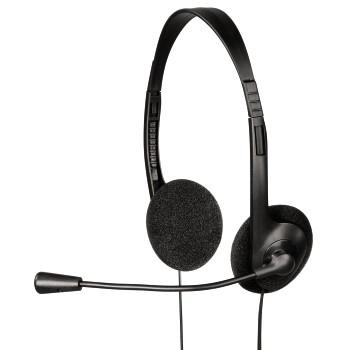Hama HS-101 Binaural Head-band Black headset