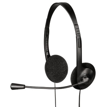 Hama HS-101 Binaural Head-band Black headset