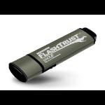 Kanguru FlashTrust USB 3.0 128GB USB flash drive USB Type-A 3.2 Gen 1 (3.1 Gen 1) Grey