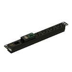 APC EPDU1016M Stromverteiler (PDU) 8 AC-Ausgänge 1U Schwarz
