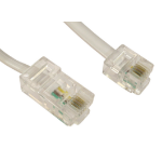 Cables Direct RJ-45 - RJ-11 5m 5m White telephony cable
