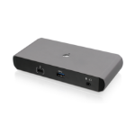 iogear GTD737 interface hub Thunderbolt 3 40000 Mbit/s Black, Gray