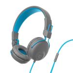JLab Studio Headphones Head-band 3.5 mm connector Blue, Graphite