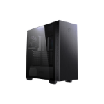 MSI MPG SEKIRA 100P 'S100P' Mid Tower Gaming Computer Case 'Black, 4x 120mm PWM Fans, USB Type-C, Tempered Glass Panel, ATX, mATX, mini-ITX'