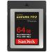 Sandisk Extreme Pro memoria flash 64 GB CFast 2.0