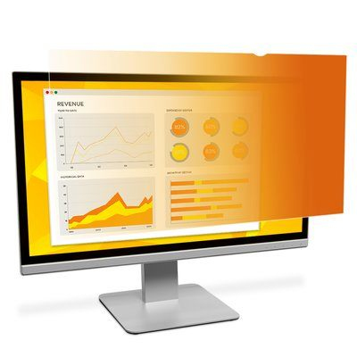 Gold Privacy Filter For 23.6in Widescreen Monitor