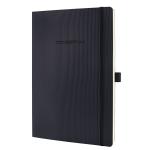 Sigel Conceptum writing notebook A4 194 sheets Black