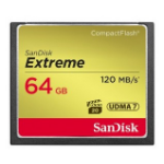 Sandisk CF Extreme 64GB 64GB CompactFlash memory card