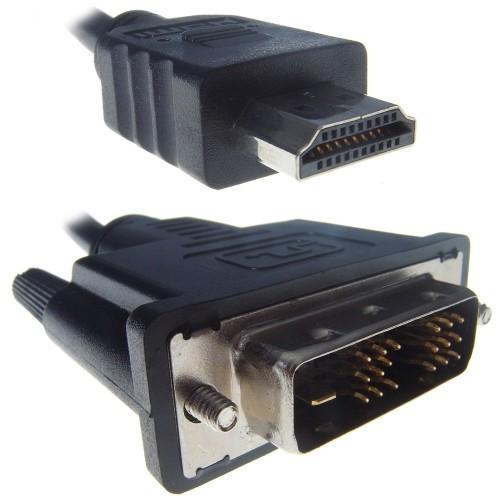 Connekt Gear 26-1684 video cable adapter 2 m HDMI DVI-D Black