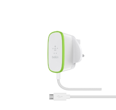 Belkin F7U009DR06 Indoor Green,White mobile device charger