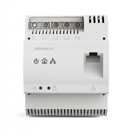 Devolo dLAN pro 1200 DINrail 1200Mbit/s Ethernet LAN White 1pc(s)