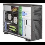 Supermicro SuperWorkstation 7049A-T Intel® C621 LGA 3647 (Socket P) Rack (4U) Black