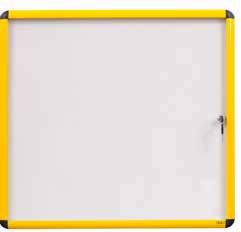 Bi-Office VT6201601511 bulletin board Fixed bulletin board White, Yellow Steel