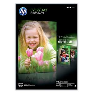 HP Paper Everyday Photo Semi Glossy A4 One Sided - Q2510A
