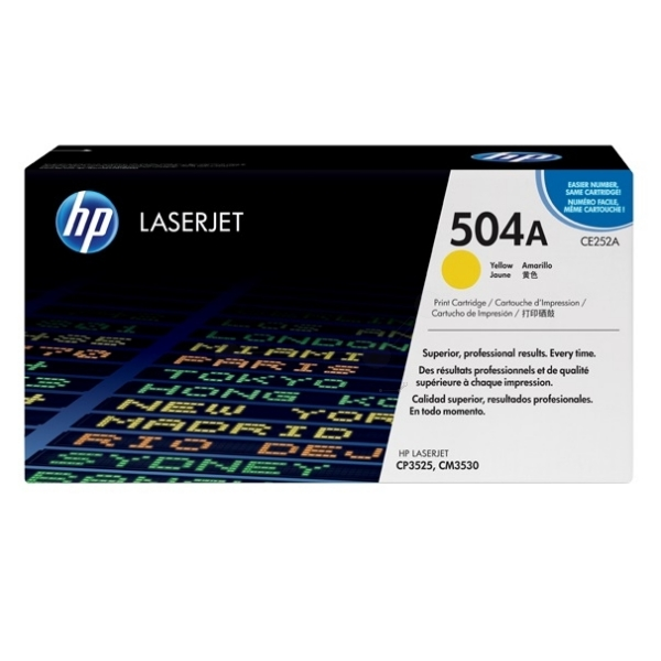 HP CE252A (504A) Toner yellow, 7K pages