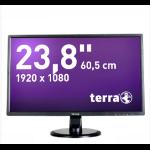 "Wortmann AG TERRA 2446W 24"" Full HD TFT Matt Black computer monitor"