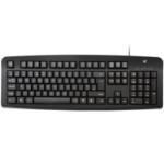 V7 Standard PS/2 Keyboard, English UK