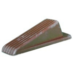 FSMISC DOOR WEDGE HEAVY DUTY BROWN 9133