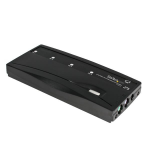 StarTech.com 4-Poort PS/2 KVM-switch Set met Kabels Zwart