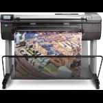 HP Designjet T830 36-in large format printer Thermal inkjet Color 2400 x 1200 DPI Ethernet LAN