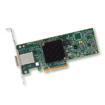 Broadcom SAS 9300-8e interface cards/adapter Intern Mini-SAS
