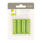 Q-CONNECT 4 x AA Single-use battery Alkaline