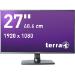 """Wortmann AG TERRA 2756W 27"""" Full HD AD-PLS Matt Black Flat computer monitor"""