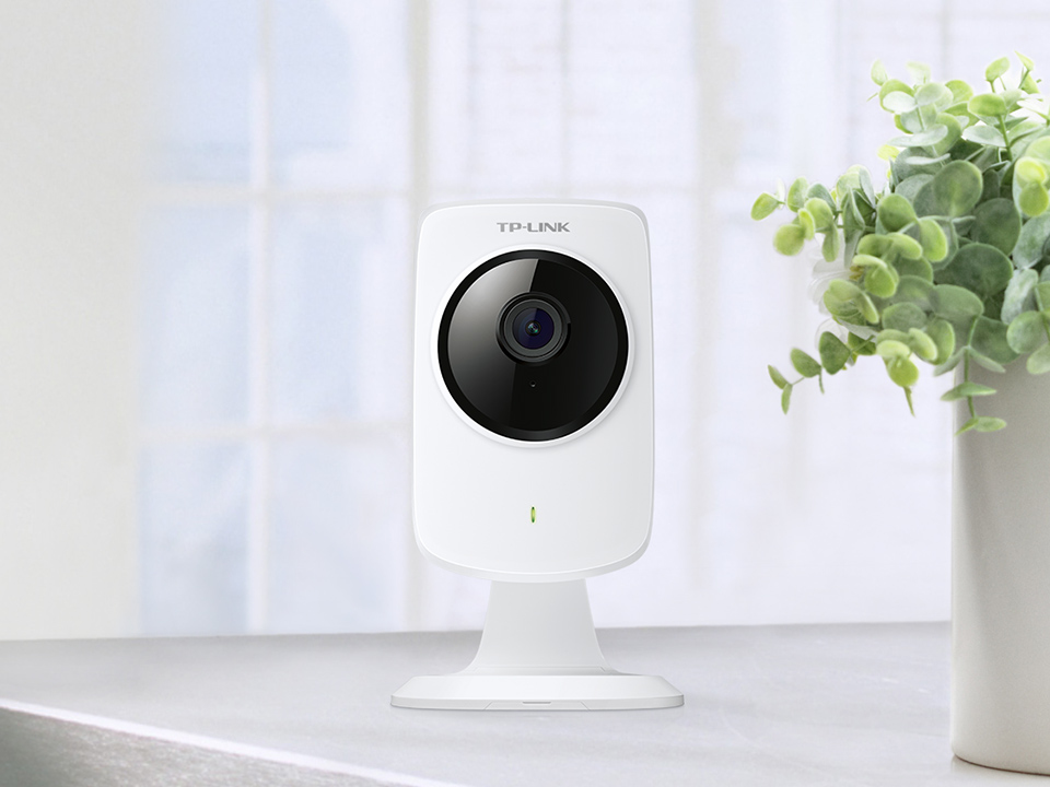 TP-LINK NC210 IP security camera Indoor Cube White security camera