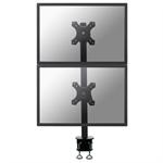 "Newstar FPMA-D700DV 27"" Black flat panel desk mount"
