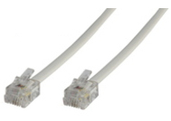 Microconnect MPK105W 5m White telephony cable