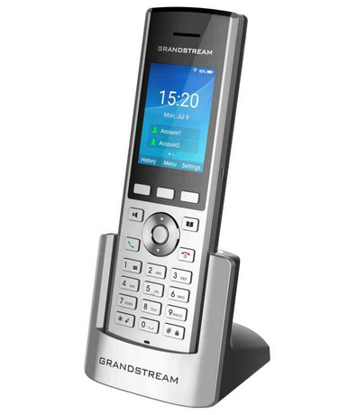 Grandstream Networks WP820 IP phone Black, Silver 2 lines LCD Wi-Fi